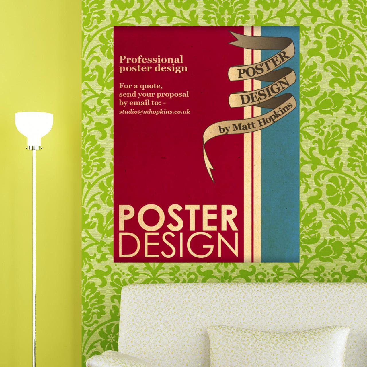 poster per interni fides grafica verona